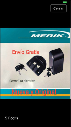 pistones 230 plus =chapa electrica=24 volts
