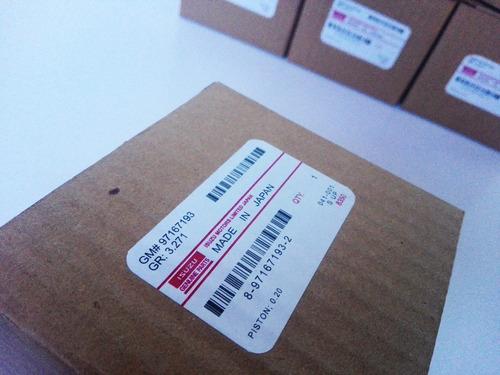 pistones luv dmax 3.5 020 std finos original isuzu