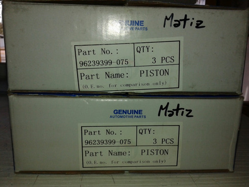 pistones matiz 0,75 - 030