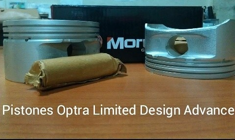 pistones optra limited design advance std