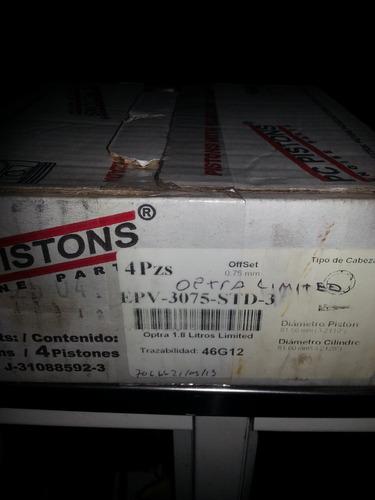 pistones optra limited std