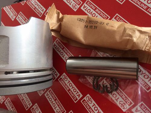 pistones originales toyota 3f con pasador medida standard