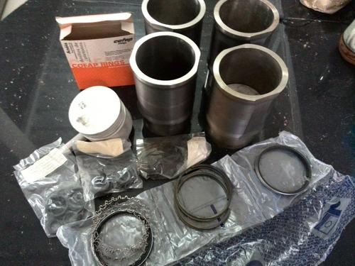 pistones para renault 11 originales.en su caja. kit completo