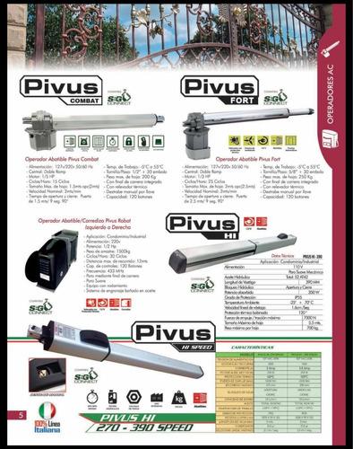 pistones seg hidráulicos pivus hi - 390 speed !envío gratis!