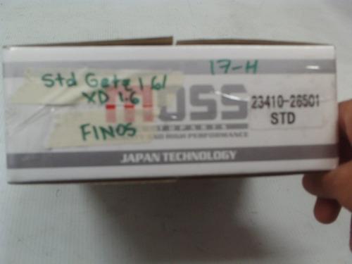 pistones std hyundai getz 1.6 elantra xd 1.6 finos - moss