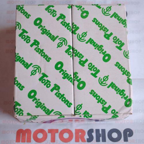 pistones terios 02-07 original japones 020/0.50 tienda fisic