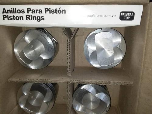 pistones y anillos fiat fire 1.3 fiat palio/siena 8v y 16v