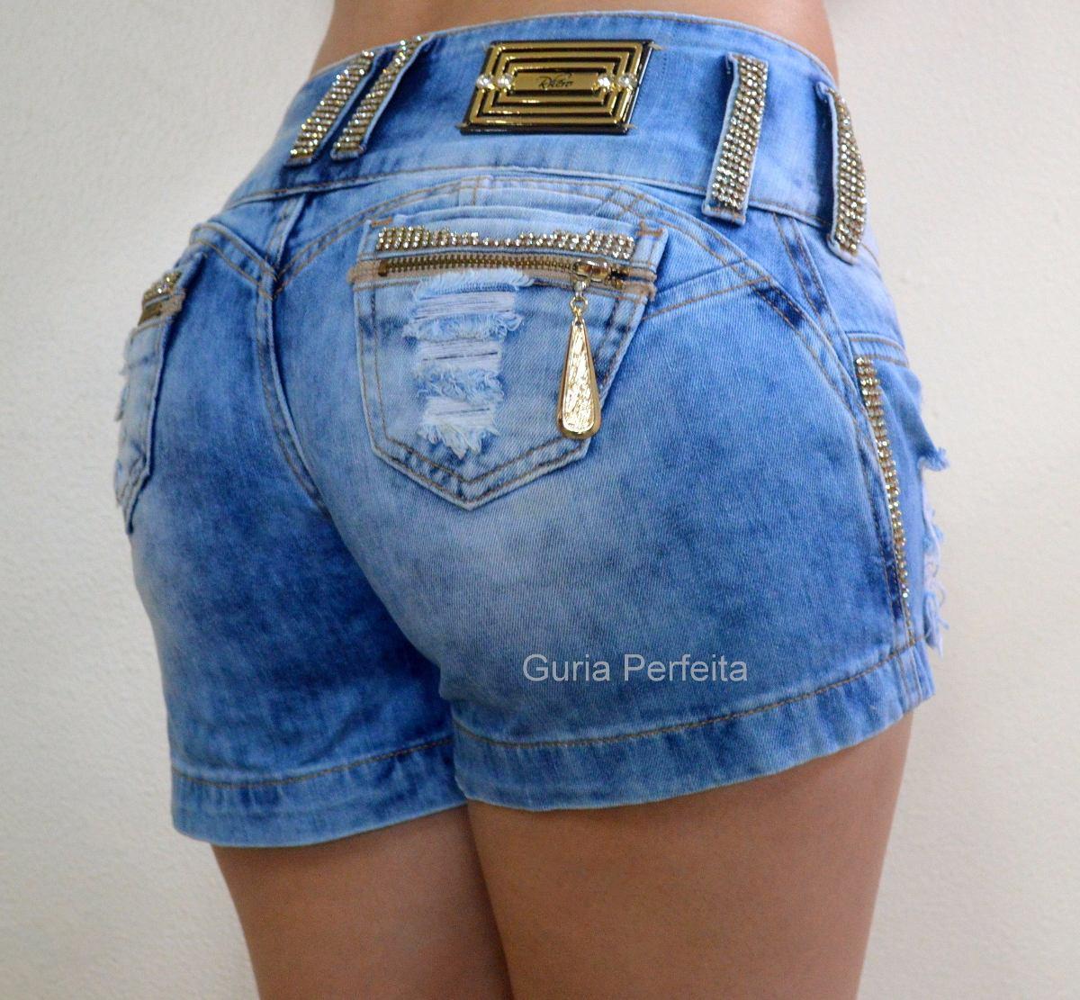 Shorts Rhero Jeans -estilo Pit Bull Jeans Com Bojo ...