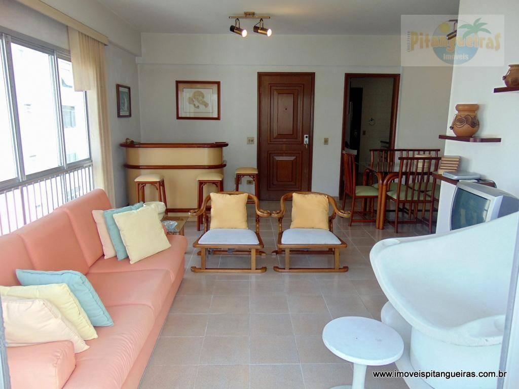 pitangueiras - duas quadras da praia - 130 m² úteis - 02 vagas. - ap4184