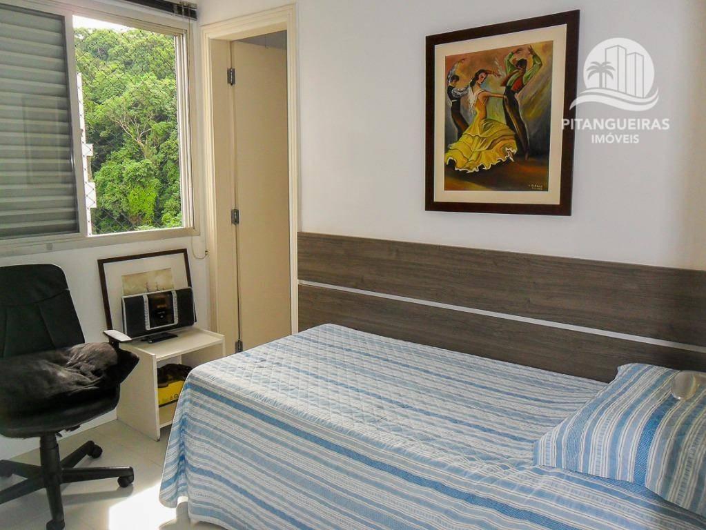 pitangueiras - local nobre - alto padrão - apartamento reformado e decorado - 02 vagas - lazer. - ap3996