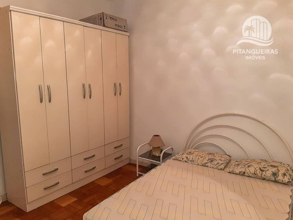 pitangueiras - local nobre - condomínio baixo - 50 m² úteis - garagem. - ap4418