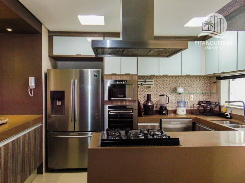 pitangueiras - local nobre - finamente decorado - 140 m² úteis - 2 vagas - área de lazer. - ap3814
