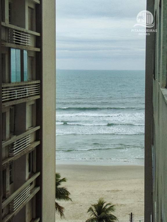 pitangueiras - prédio frente ao mar -  melhor local da praia. - ap3040