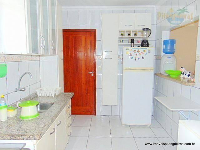 pitangueiras - região central - 112 m² úteis - garagem - 02 quadras do mar. - ap4146