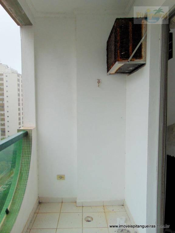 pitangueiras - terceira quadra da praia - 02 vagas - 70 m² úteis - pequena vista para o mar. - ap4406