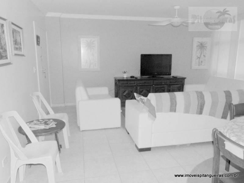 pitangueiras - uma quadra da praia - 120 m² úteis - amplo apartamento . - ap4377