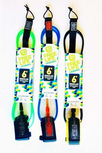 pitas leash tabla de surf 6'  (7mm) freelife reforzada