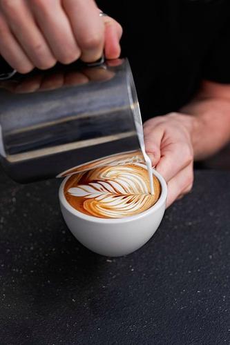 pitcher jarra arte latte 20 oz cafe cuotas s/interes