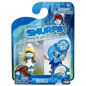 Pitufina Smurfs The Lost Village Smurfette 2 En Uno