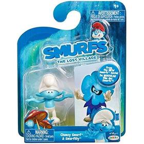 Pitufo Tontin Smurfs The Lost Village Smurfette 2 En Uno