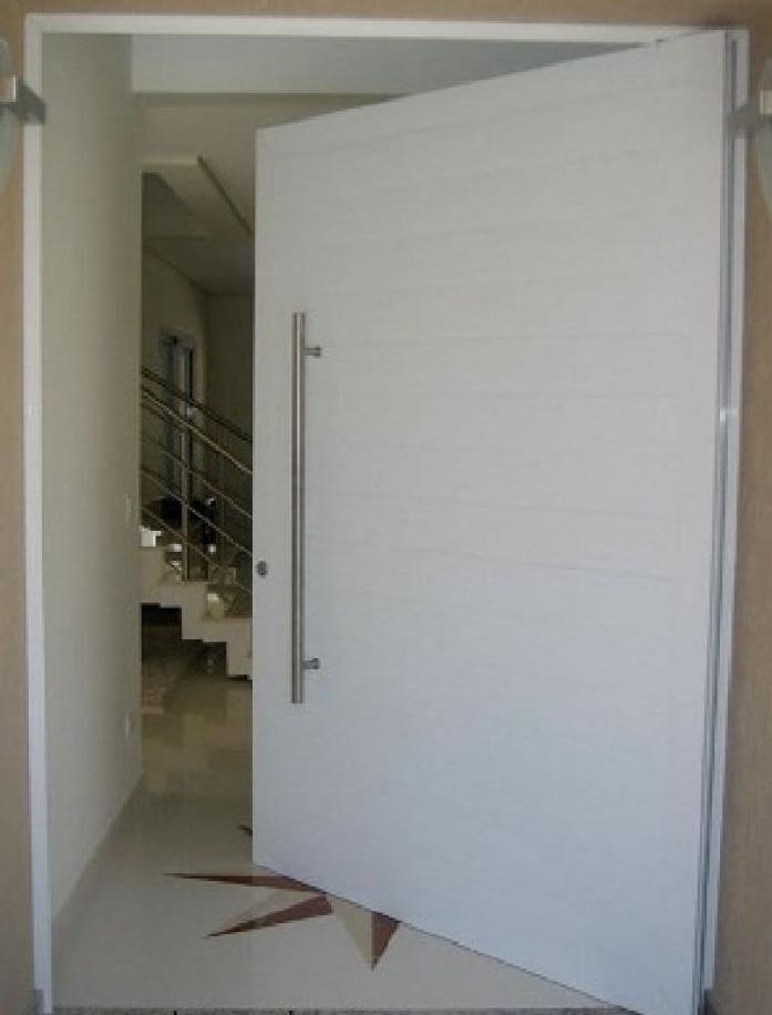 Porta Pivotante Em Alum Nio Frisada 1200x2200