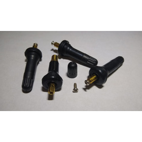 Pivote Válvula De Inflado Sensor De Presión Tpms 4 Pzas