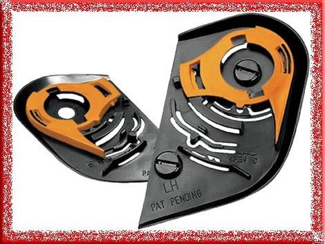pivotes / mecanismo visor casco icon distribuidor autorizado