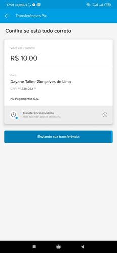 pix de 10 reais