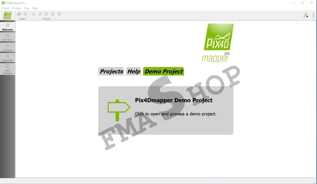 Pix4d Pix4dmapper Professional Versão 2 0 104 / 64bits