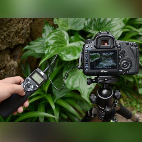 pixel t9-dc0-dc2 lcd fsk 2.4ghz con cable y disparador inalá