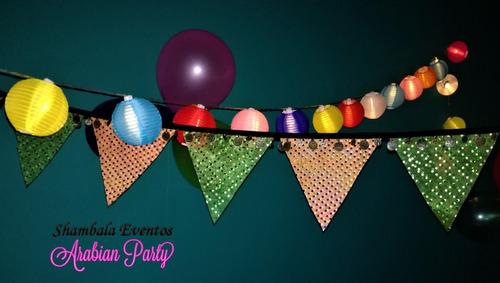 piyamadas alquiler tiendas árabes p/cumpleaños- eventos gral