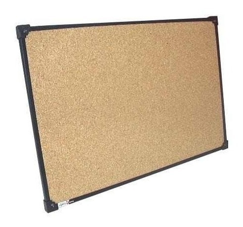 pizarra 80x120 corcho marco metalico fuerte