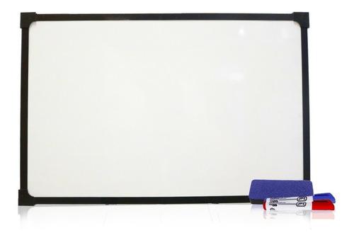 pizarra blanca 40x60 borde metálico + combo de regalo envío