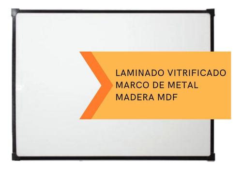 pizarra blanca 60x80cm +2 marcadores y accesorios gratis
