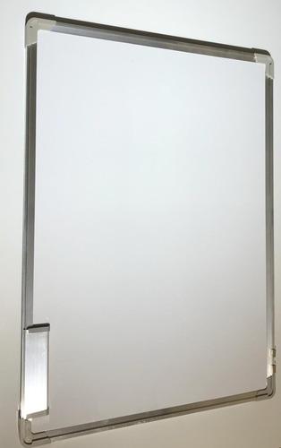 pizarra blanca 70x1m escuela aula marcador magnética doble