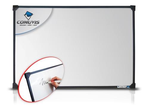 pizarra blanca 80x120cm +1 marc recargable + borr + embalaje