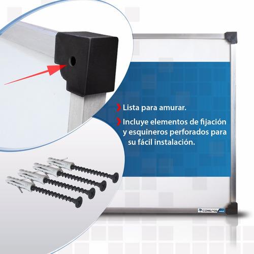 pizarra blanca magnetica de 120x180cm excelente calidad