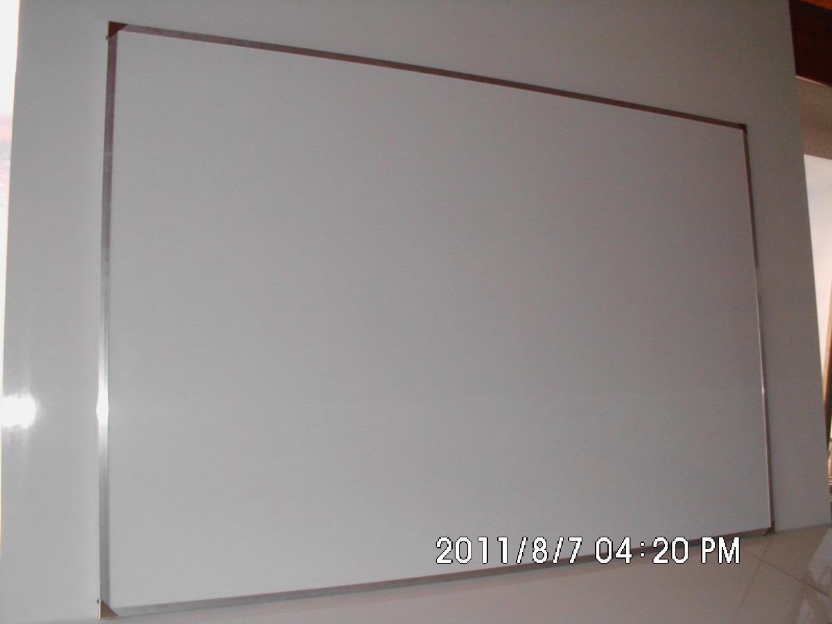 Pizarra Blanca Para Marcador 30x40 Marco De Aluminio - $ 199,00 en ...