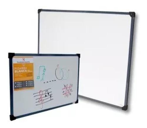 pizarra blanca para marcador borde metalico 60x40cm