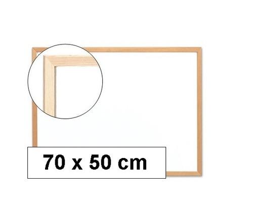 pizarra blanca plumon madera trupan 70 x 50 cm - nice home