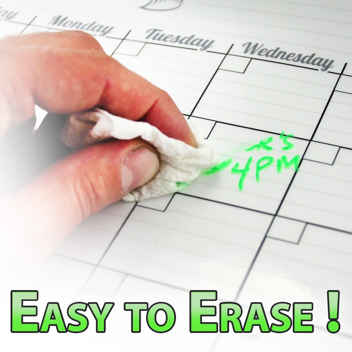 e4619010b3e8b pizarra de planificador de calendario mensual de borrado en. Cargando zoom.