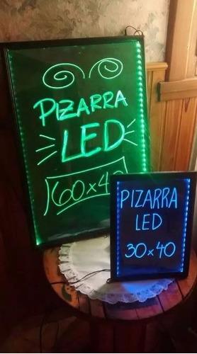 pizarra led 60x40 publicitaria + 8 plumones + 3 regalos pdf