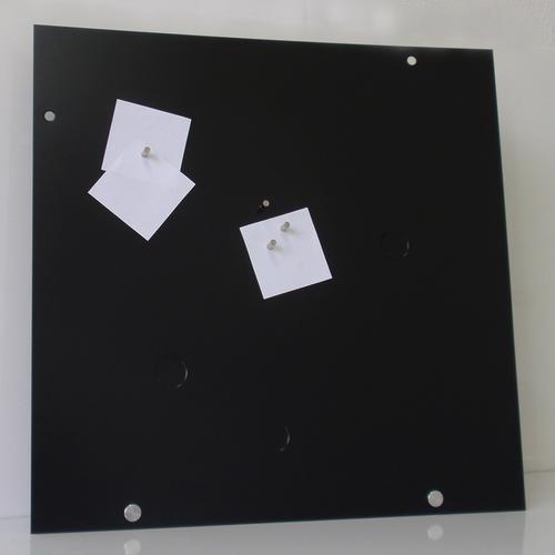 pizarra magnética chapa 40x40cm blanca y colores imantados
