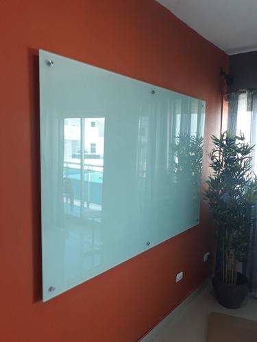 pizarra moderna, elegante segura y durable en vidrio flotant