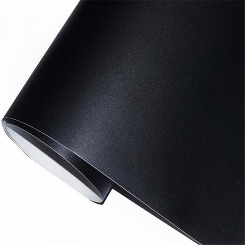 pizarra sticker negra tablero 200 x 45 cm + tizas