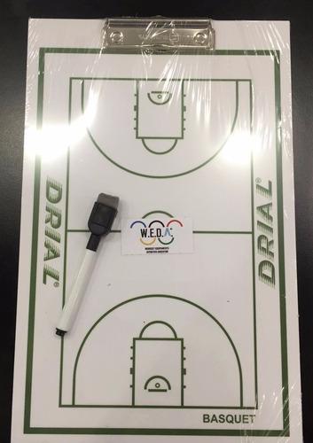 pizarra táctica (futbol, voley, handball y basquet) + fibron