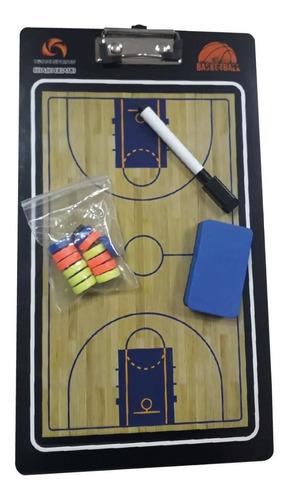 pizarra táctica manual basquet