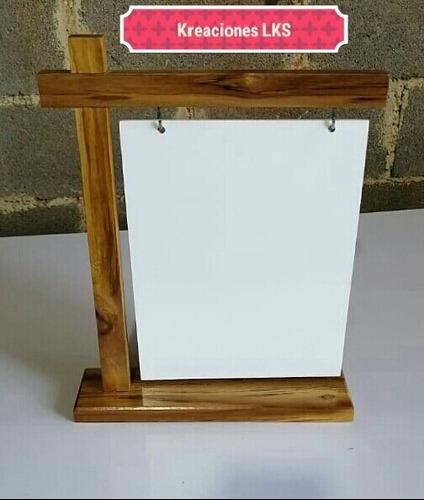 pizarras acrilicas de madera