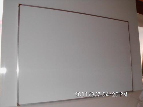 pizarras blancas para marcador marcos de aluminio 120x150