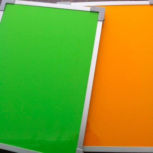 pizarras colores 60x40cm oferta!